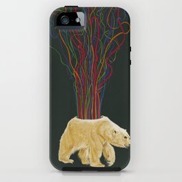 Magnetospheric S.O.S. iPhone Case