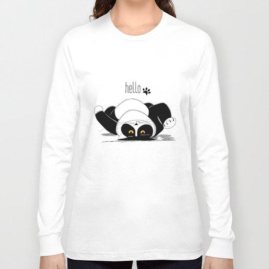 Hello :) Long Sleeve T-shirt