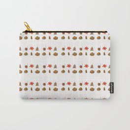 fall patterns watercolor Carry-All Pouch