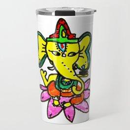 Ganesha by Elisavet Travel Mug