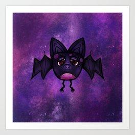 Bini The Bat Art Print