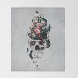 Life and Death Throw Blanket
