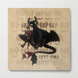 Night Fury Special Metal Print
