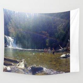 Smokey Mountain Waterfall Wall Tapestry