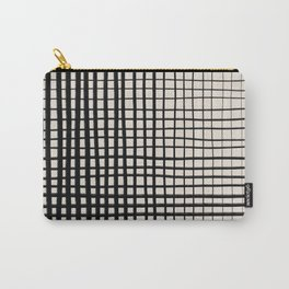 Horizontal & Vertical Lines Carry-All Pouch