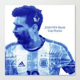 2018 FIFA World Cup Argentina Canvas Print