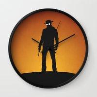 django Wall Clocks featuring Django by Nick Kemp