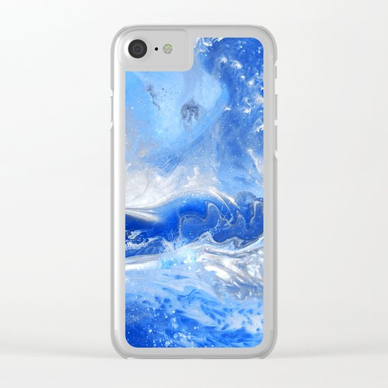 Forever Waves Clear iPhone Case
