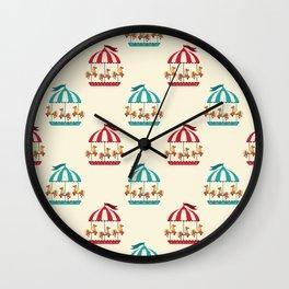 Carousel Dreams Wall Clock