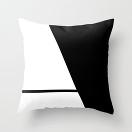More than Shape  / Capital Letter A Throw Pillow