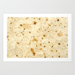 Burrito Baby/Adult Tortilla Blanket Art Print