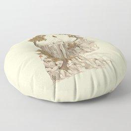 A Beautiful Mind Floor Pillow