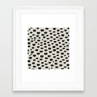 charmaine Framed Art Prints featuring Evil Eyes by eye in the sky