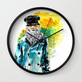 Salty Dog Wall Clock