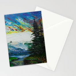 The last day on Earth Stationery Cards