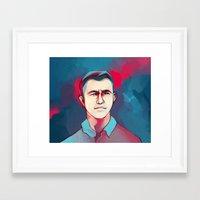 jon contino Framed Art Prints featuring DON JON by tidlin