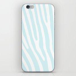 Blue Zebra iPhone Skin