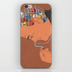 Lotto head iPhone & iPod Skin