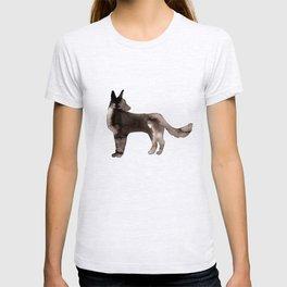 Shepherd Watercolor Wash T-shirt