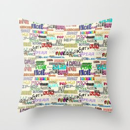 It's Your Thing Throw Pillow