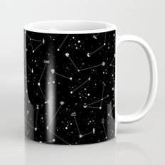 Constellations (Black) Coffee Mug