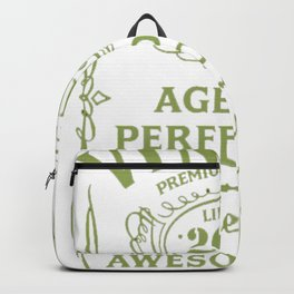 Green-Vintage-Limited-2000-Edition---17th-Birthday-Gift---Sao-chép Backpack