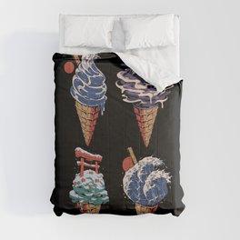 Japanese Ice Creams Comforters