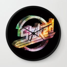 Stoked Cosmos Wall Clock