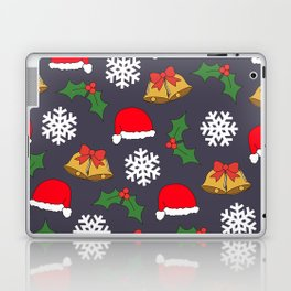 Jingle Bells Christmas Collage Laptop & iPad Skin