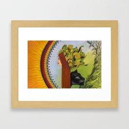 Manifestation of Ix Framed Art Print