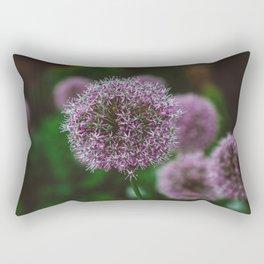 New York Alliums II Rectangular Pillow