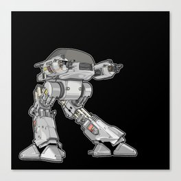 15 seconds to comply Canvas Print