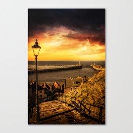Tourists Rest Canvas Print