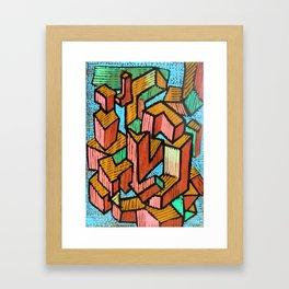 YU FDS KJHG Framed Art Print
