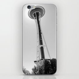 Space Needle, the Seattle landmark. iPhone Skin