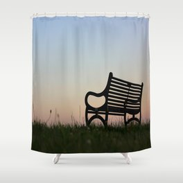 Sit Down and Forget The World Shower Curtain