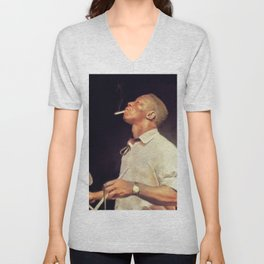 Art Blakey, Music Legend Unisex V-Neck