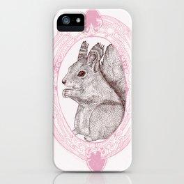 Cameo Squirrel iPhone Case
