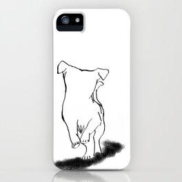 jackrussel terrier iPhone Case