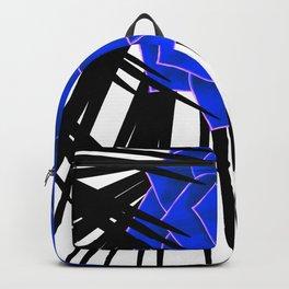 Big Bold Indigo Echeveria Illustration Backpack