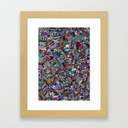 Colorfest Framed Art Print