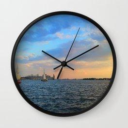 Caton Waterfront: Round 2 Wall Clock