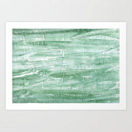 Turquoise green Art Print