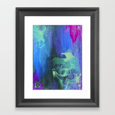 Rumors of Happy Ness Framed Art Print