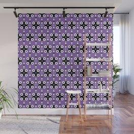 Funky Geo Modern / Purple Geometric Modern Pattern Wall Mural
