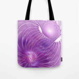Protection, Abstract Fractal Art Tote Bag
