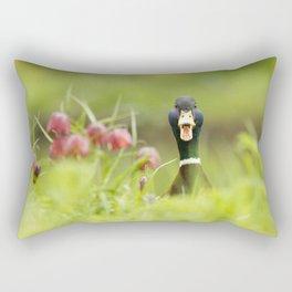 Go Home, Duck, You're Drunk! Rectangular Pillow