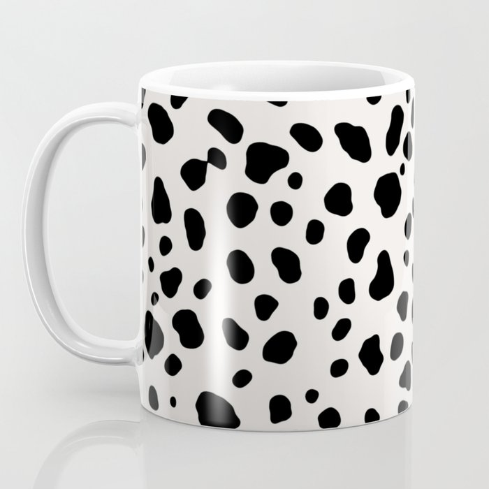 Polka Dots Dalmatian Spots Coffee Mug