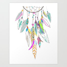 DREAM--CATCHER Art Print