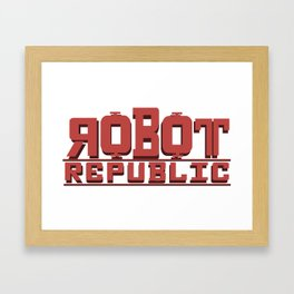 Robot Republic Framed Art Print